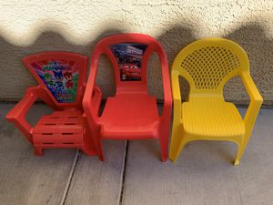 3 kids chairs $8 for Sale in Las Vegas, NV