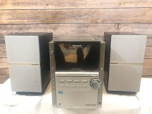Stereo Panasonic CD Stereo System SA PM18 Tested Works No remote. CD/Cassette/FM for Sale in Randallstown, MD