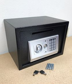 "New in box $55 Depository 14""x10""x10"" Digital Security Safe Box Electric Keypad Lock w/ Master Key for Sale in South El Monte,  CA"