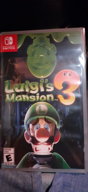 Nintendo Switch Luigi's Mansion 3, brand new in wrapping for Sale in Fairfield, CA