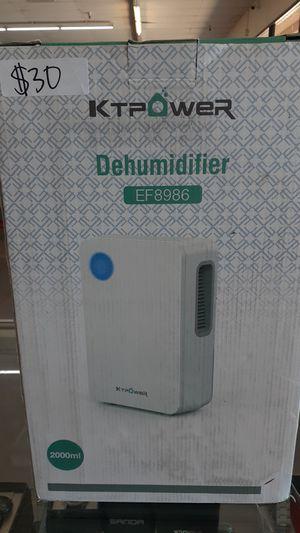 KTPOWER DEHUMIDIFIER for Sale in Glendale, AZ