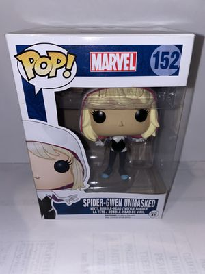 New Funko Pop Marvel Spider-Gwen Unmasked 152 Walgreens excl. for Sale in Palmdale, CA
