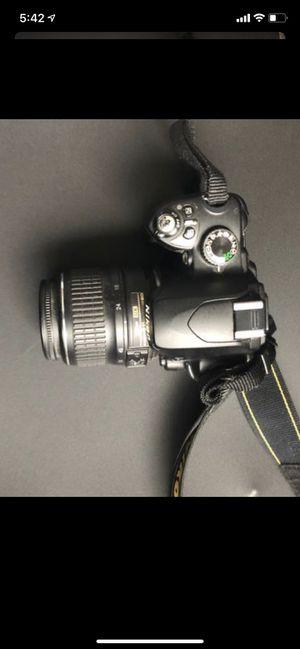 Nikon D60 camera with AF-P DX 18-55mm VR lense. for Sale in West Chicago, IL