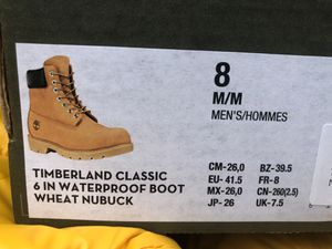 CLASSIC TIMBERLANDS BRAND NEW IN BOX for Sale in Baltimore, MD
