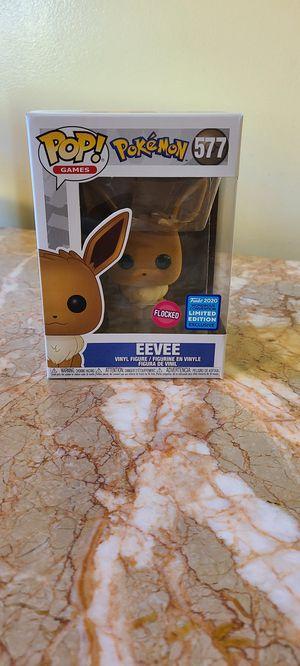 Flocked Eevee pokemon funko pop for Sale in Los Angeles, CA