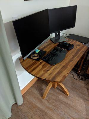 Kitchen table (or desk) and chairs for Sale in Seattle, WA
