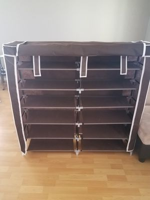 "Clothes and shoe storage!! 45"" x 45"" Cloth zip up. It's wonderful! for Sale in Goodyear, AZ"