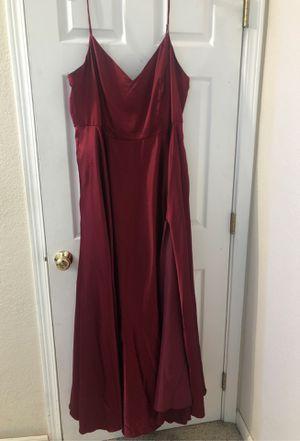 burgundy prom dress for Sale in Mill Creek, WA