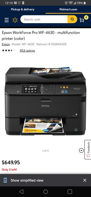 Home office wireless printer for Sale in Waco, TX