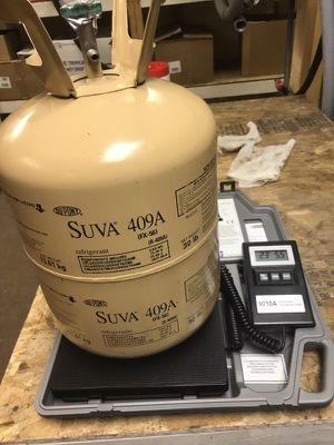 Suva 409A refrigerant for sale for Sale in Nanuet, NY