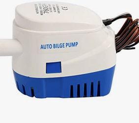 Amarine Made Automatic Submersible Boat Bilge Water Pump 12v 760gph Auto with Float Switch for Sale in La Habra,  CA