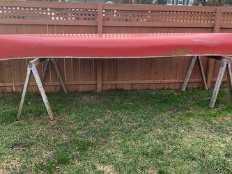 17ft Red Water Canoe for Sale in Virginia Beach,  VA