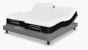 Intellibed Midnight 2 Twin XL Mattresses (Make a King Bed)[Will Deliver To You if within 25 miles] for Sale in Bladensburg, MD