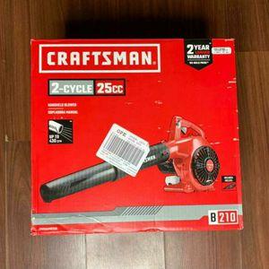 CRAFTSMAN B210 25-cc 2-Cycle 200-MPH 430-CFM Handheld Gas Leaf Blower for Sale in Riverside, CA