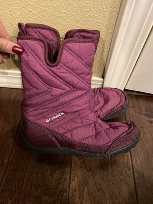 Girls Columbia waterproof winter boots size 2 for Sale in Vancouver, WA