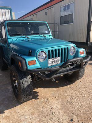 1997 Jeep Wrangler tj sport 4.0 for Sale in Graham, TX