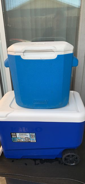 Coleman cooler for Sale in Claremont, CA