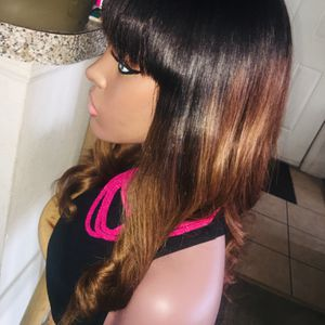 "Human Closure Bang Wig 16""$150 for Sale in Tampa, FL"