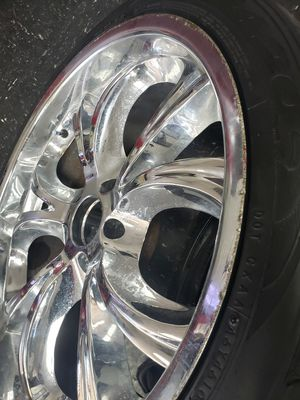 22 inch rims and tires for Sale in Missouri City, TX