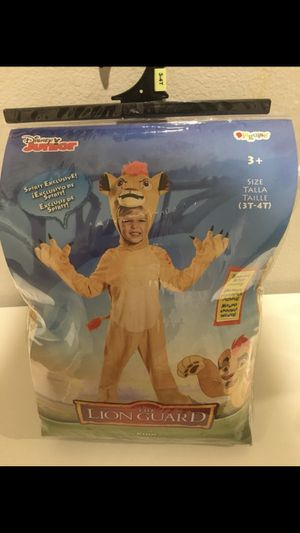 Dress up Lion King costume Halloween for Sale in San Diego, CA