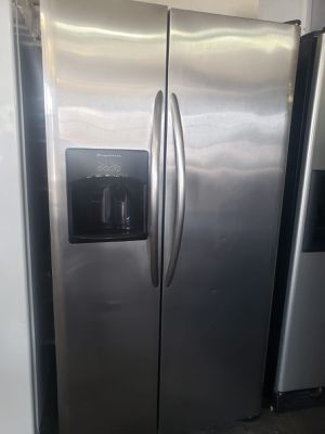 FREE DELIVERY! Frigidaire Refrigerator Fridge Stainless Steel With Warranty #885 for Sale in Ontario, CA