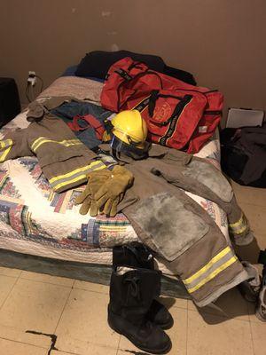Firefighter bunker gear full set for Sale in Duncanville, TX