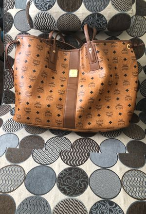 LARGE AUTHENTIC MCM TOTE BAG for Sale in Washington, DC