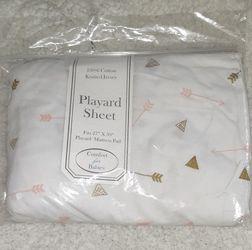 NEW- Girl's Playard sheet for Sale in Kent,  WA