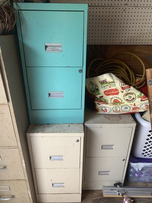 Filing cabinet as is for Sale in Fort Pierce, FL