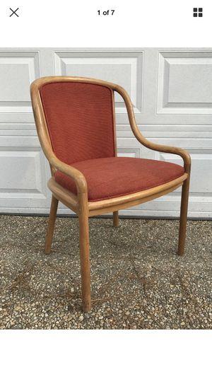 Vintage mid century modern ward Bennett for Brickell designs ash bentwood arm chair for Sale in Washington, DC