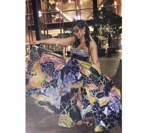 Multicolored prom dress for Sale in Irwin, PA