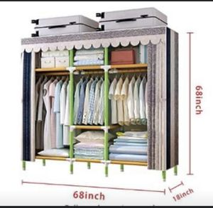 Portable Closet with Cover - Excellent Condition for Sale in Boston, MA