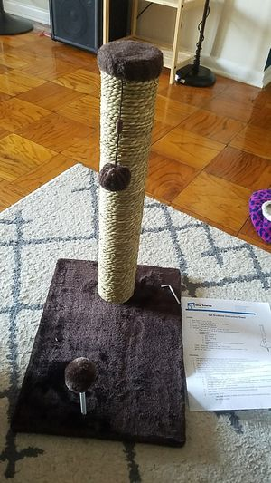 Frisco 21-in Cat Scratching Post with Toy for Sale in Washington, DC