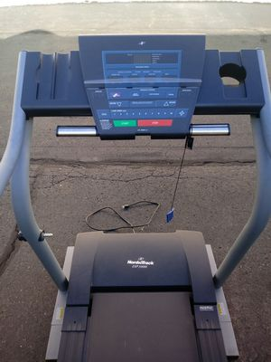 Nordictrack treadmill 1000i model track your progress calories distance time speed also inclines commercial grade deliveriey possible. for Sale in Philadelphia, PA