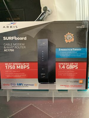 Arris Surfboard AC1750 Modem and Router for Sale in Largo, FL