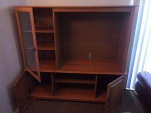 Wooden entertainment center for Sale in Seneca, SC