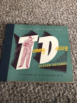 Tommy Dorsey vinyl albums total of 4 for Sale in Dutton, MI
