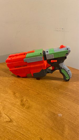 Nerf Vigilon disc gun for Sale in Gahanna, OH