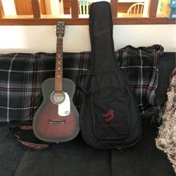 Gretsch Jim Dandy Acoustic Guitar G9500 + Strap + Gig Bag for Sale in Troutdale,  OR