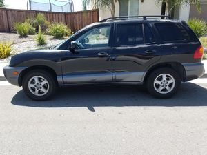 VERY CLEAN AND RELIABLE DRIVES GREAT 2003 HYUNDAI SANTA FE 3.5L CLEAN TITLE WITH SMOG CERTIFICATE AND CURRENT REGISTRATION for Sale in Moreno Valley, CA