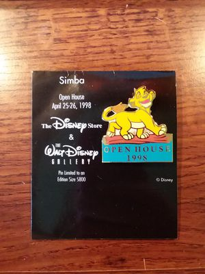 Disney Store/ The Walt Disney Gallery 1998 Open House Simba Pin for Sale in MIDDLEBRG HTS, OH