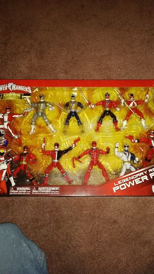 Power rangers the mega collection from toys r us $100 or b.o. for Sale in Cocoa, FL