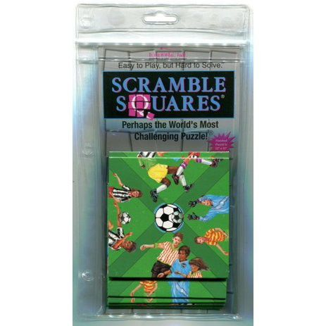 Scramble Squares Puzzle: Soccer, Age: 12+ By BDazzle