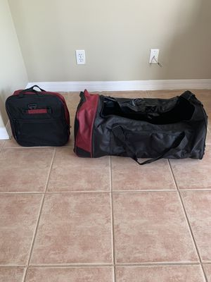Collapsible Rolling Duffle Bags - Pair of 2 for Sale in Tamarac, FL