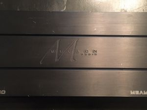 Merlon Audio MEAM 1300/Pro 1300 peak mono amp for Sale in San Bernardino, CA