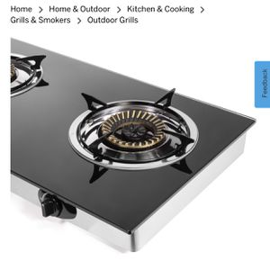 Glass top camping stove for Sale in Azusa, CA