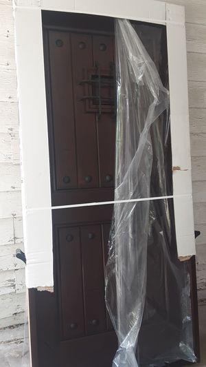 Wood Front entrance door for Sale in San Antonio, TX