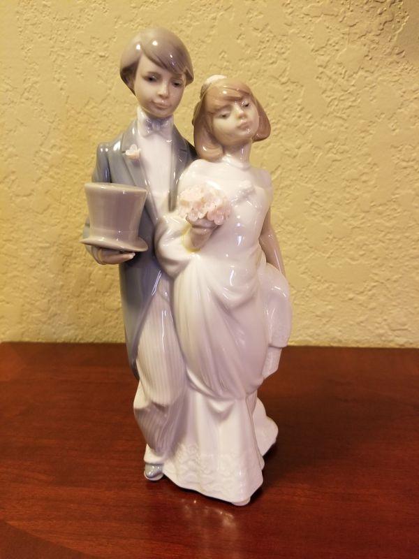 Lladro Wedding Bells Figurine