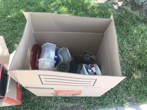 FREE KITCHENWARE ITEMS. BRING YOUR OWN BOX for Sale in Rockford, IL