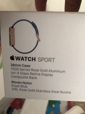 38mm sport Apple Watch ⌚️ for Sale in North Las Vegas, NV